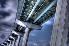 1 hindmarsh csp моста Стоковые Фото