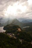 1 hohenschwangau замока Стоковые Изображения