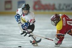 (1) hokej 2010 5s Fotografia Stock