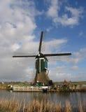 1 holländska windmill Royaltyfria Bilder