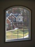 1 home lyx till och med fönster Royaltyfri Fotografi