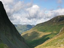 1 honister pass Fotografia Royalty Free