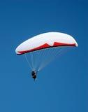 1 hoppa fallskärm Arkivbilder