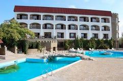 (1) hotelowy rekreacyjny morze Zdjęcie Royalty Free