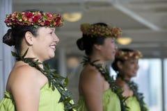 1 hula танцоров Стоковые Изображения RF