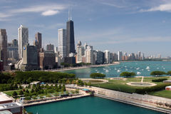 1 i stadens centrum chicago Royaltyfri Foto