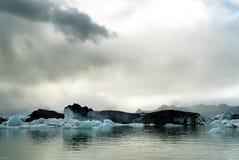 1 iceland joekulsarlon Arkivfoto