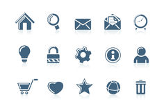 (1) ikon internetów sieć royalty ilustracja