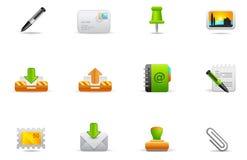 (1) ikon interneta philos ustawiają stronę internetową ilustracja wektor