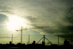1 industriella zon Arkivbilder