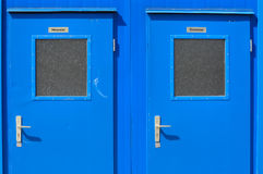 1 inga toaletter Arkivbilder
