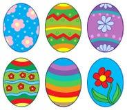 (1) inkasowi Easter jajka Zdjęcie Stock