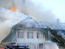 1 INS πυρκαγιάς Στοκ εικόνα με δικαίωμα ελεύθερης χρήσης