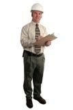 1 inspektorze budowlanych Obrazy Stock