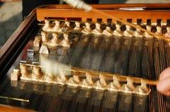1 instrumentmusikal Royaltyfri Bild