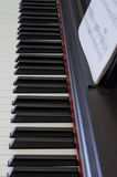 1 instrumentmusikalpiano Royaltyfri Foto