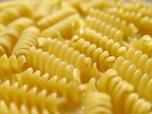 1 italienska pastawhite för fusilli Royaltyfri Bild