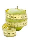 (1) jabłczany centymetr Zdjęcia Stock