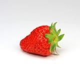 1 jordgubbe Arkivfoton