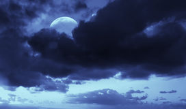 1 JPG月亮 免版税库存图片