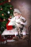 1 julwish Royaltyfria Bilder