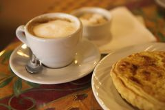 1 kaffe Fotografering för Bildbyråer