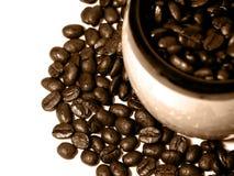 1 kaffeserie Arkivfoto