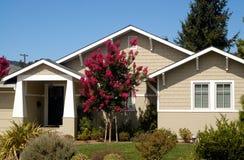 1 Kalifornien hus Arkivfoto