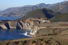 1 Kalifornien ingen route Arkivbilder