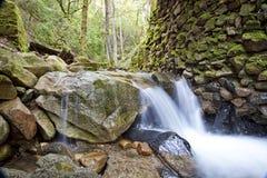 1 kanjonuvasvattenfall Royaltyfria Bilder