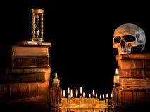 1 kant halloween Arkivfoton