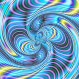 1 kaosspiral Arkivbild