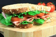 (1) karmowa kanapka Zdjęcia Stock