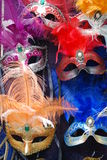 1 karneval maskerar venetian Royaltyfri Fotografi
