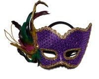 1 karnevalmaskering Arkivbild