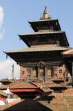 1 kathmandu tempel Royaltyfri Bild