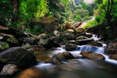 1 kerawang伶猴瀑布 图库摄影