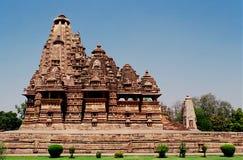 1 khajuraho Индии Стоковые Изображения RF