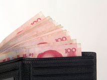 1 kinesiska pengar Arkivbilder