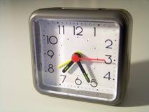 1 klocka Arkivfoton