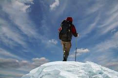 1 klättrare Arkivbilder