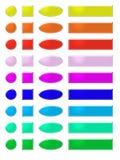 1 knappregnbågerengöringsduk Fotografering för Bildbyråer