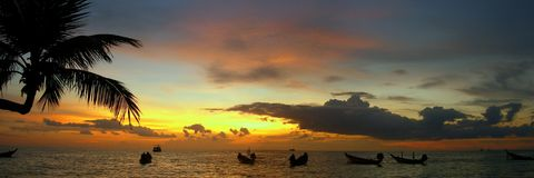 1 ko tao thailand Royaltyfria Bilder