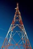 1 kommunikationstorn royaltyfri bild