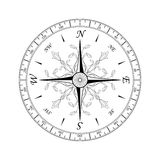 1 kompass steg Royaltyfria Bilder