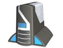 1 komputera osobistego wieży Obrazy Royalty Free