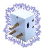 1 koncepcję energii elektrycznej Obrazy Stock