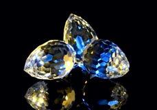 1 kristallsnittmagi Arkivbilder
