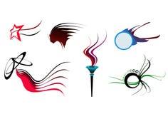 (1) kształtuje niektóre symbol Obrazy Royalty Free