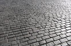 1 kullerstenmanhattan gata Fotografering för Bildbyråer